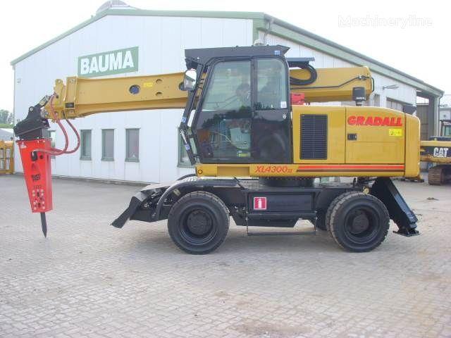 GRADALL XL 4300 excavator pe roţi