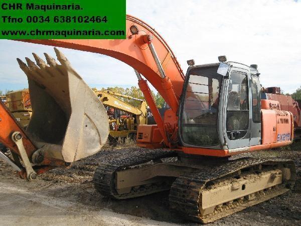 FIAT-HITACHI EX255 excavator pe şenile
