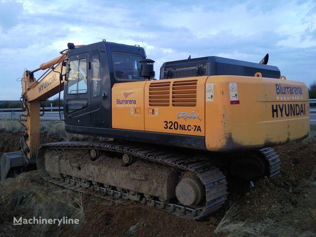 HYUNDAI R320LC7 excavator pe şenile