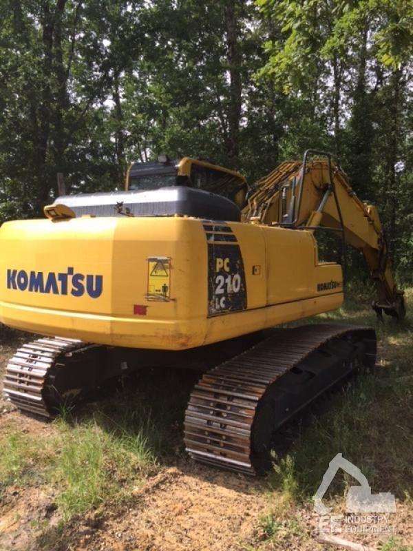 KOMATSU PC 210 LC-8K excavator pe şenile