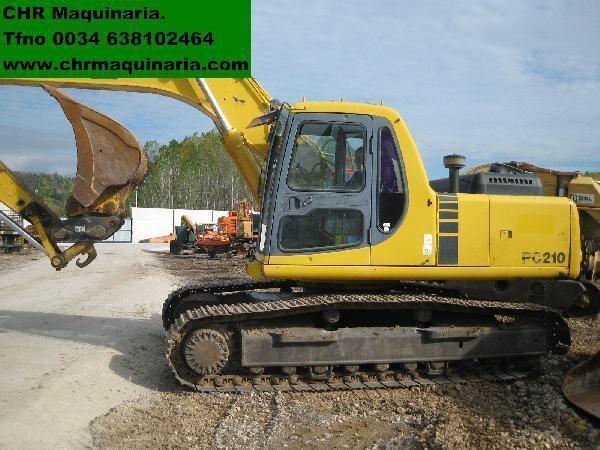 KOMATSU PC210-6 excavator pe şenile