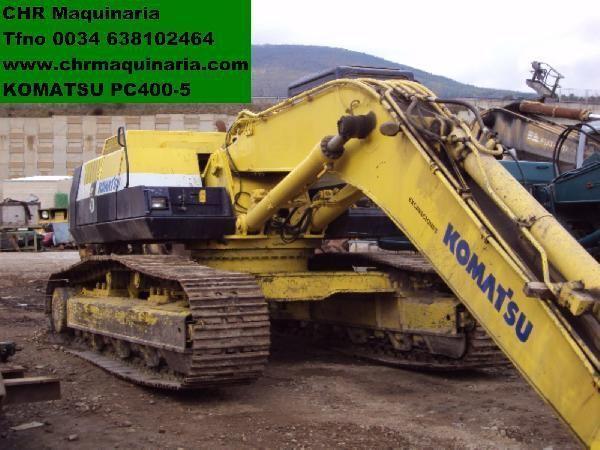 KOMATSU PC400-5 excavator pe şenile