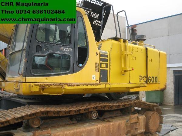 KOMATSU PC600-6 excavator pe şenile