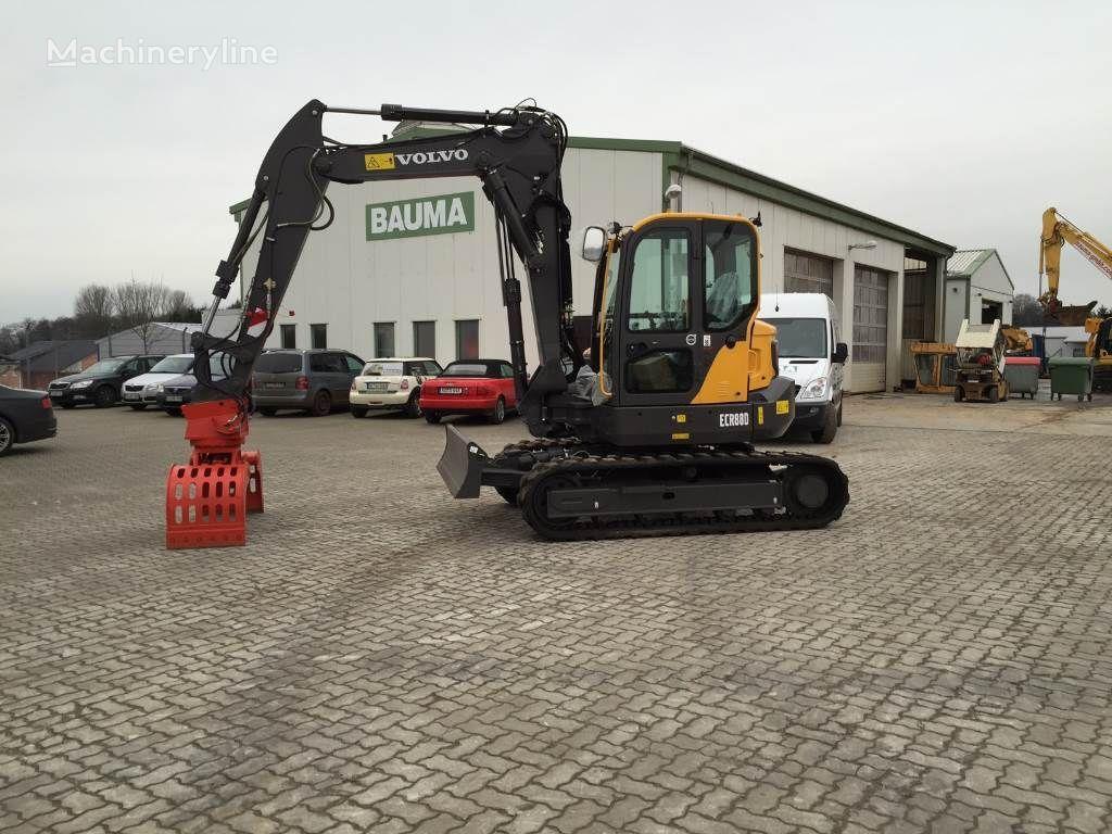 VOLVO ECR88D excavator pentru demolări