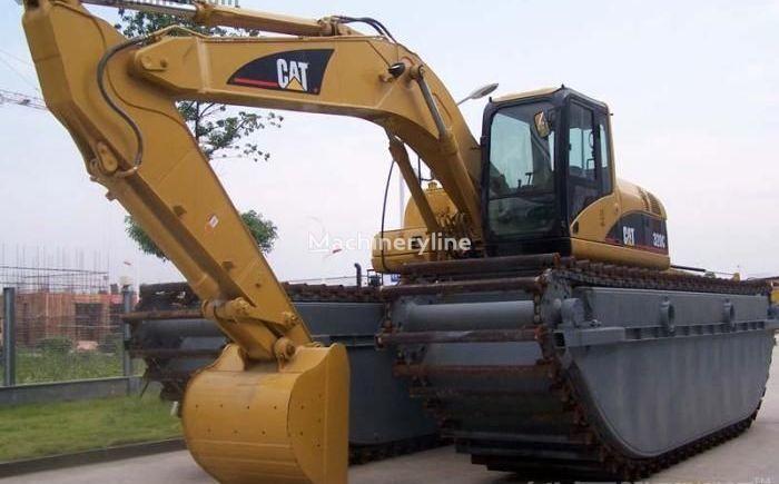 CATERPILLAR 320C excavator plutitor