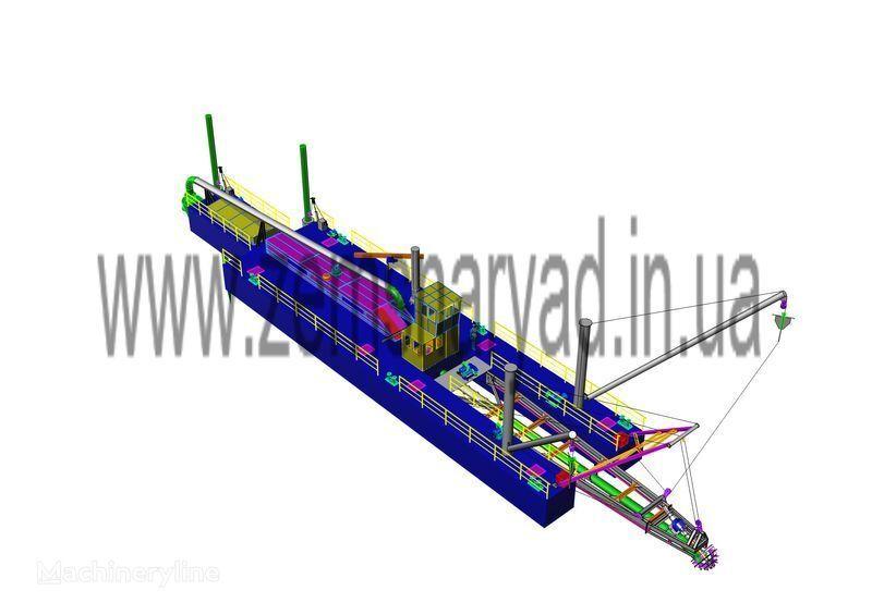 NSS  6000/70-F excavator plutitor nou