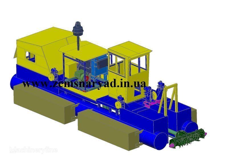 NSS Zemsnaryad NSS 300/30-F excavator plutitor nou