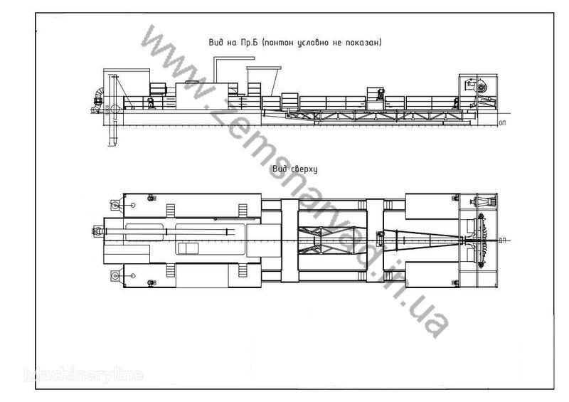 NSS Zemsnaryad NSS 6000/60 K GR excavator plutitor