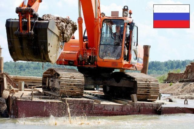 Platforma (ponton) pod ekskavator excavator plutitor nou