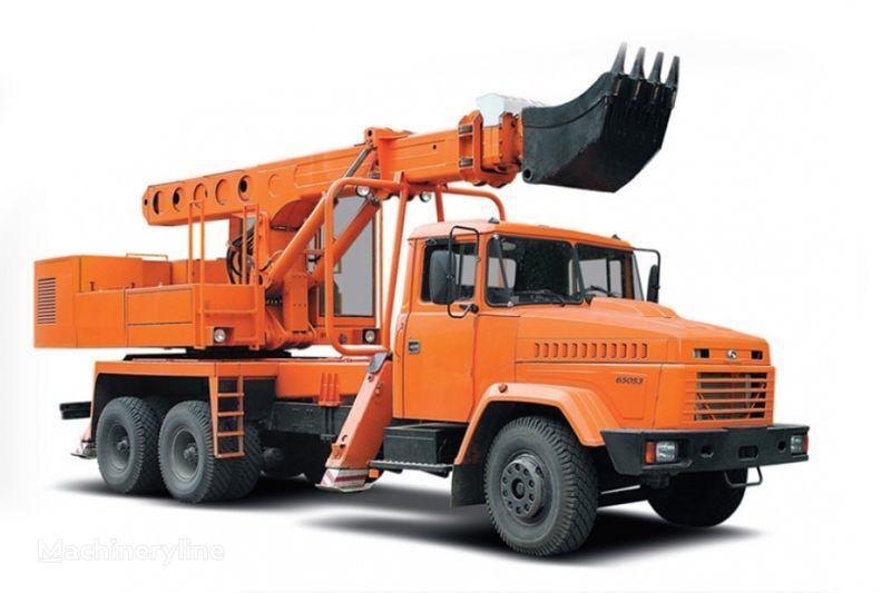 KRAZ 65053 UDS-114R Avtoekskavator-planirovshchik  excavator telescopic