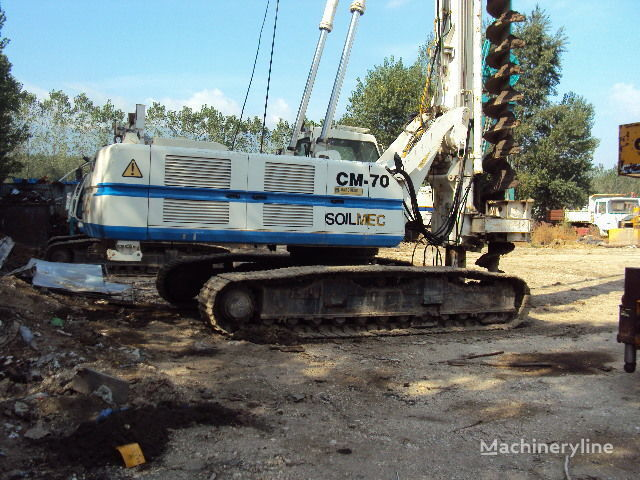 Soilmec CM 70. maşină de foraj