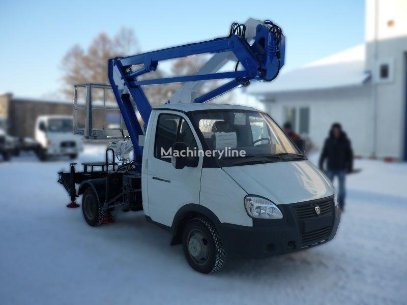 GAZ VIPO-12-01 na bazovom shassi  GAZ-3302 Gazel nacelă pe camion