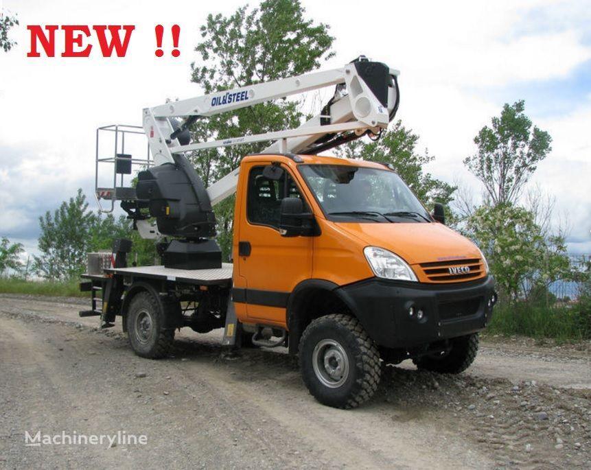 IVECO Daily 4x4 nowy podnośnik koszowy zwyżka 18m nacelă pe camion nou
