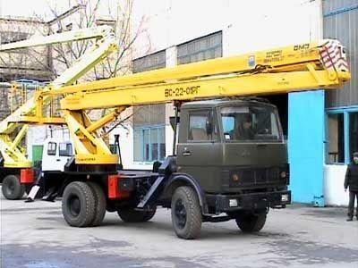 KAMAZ VS—22-01  nacelă pe camion