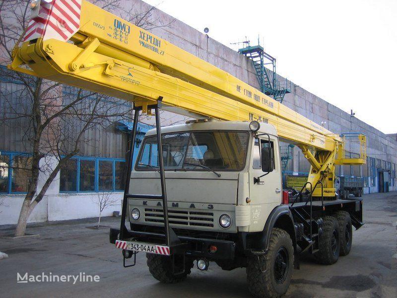 MAZ VS—22-01  nacelă pe camion