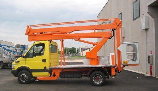 TECCHIO nacelă pe camion nou
