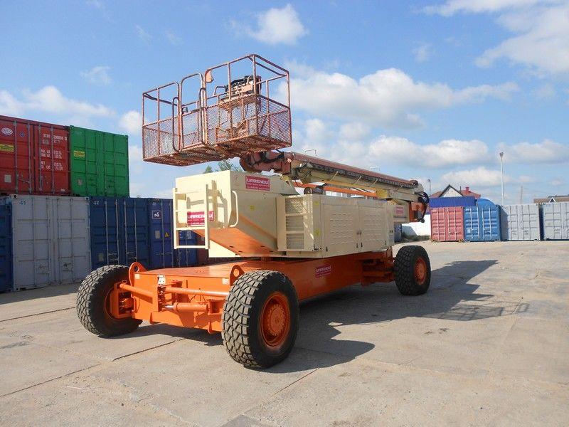 JLG 150HAX, Diesel, 4x4, 47.7m nacele cu brat telescopic