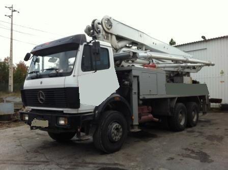 MERCEDES-BENZ 2629 pompă de beton