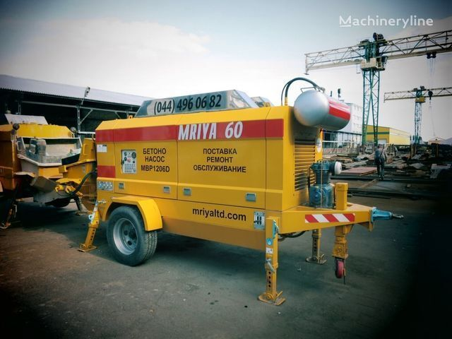 MRIYA MBP 1206D pompă staţionară pentru beton nou