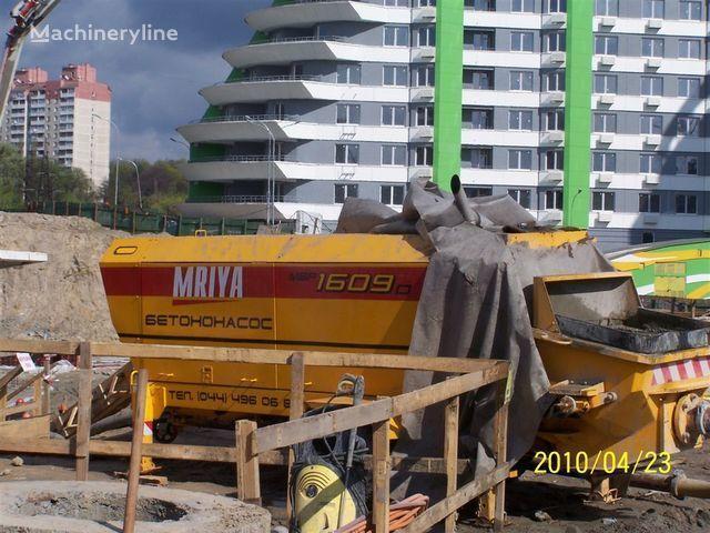 MRIYA Stacionarnyy betononasos