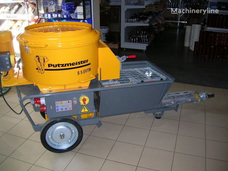 PUTZMEISTER S5 EV/TM pompă staţionară pentru beton nou