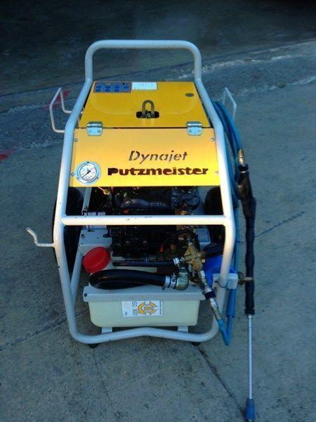 PUTZMEISTER putzmeister dynojet (maquina auxiliar para el plegado de plumas  pompă staţionară pentru beton