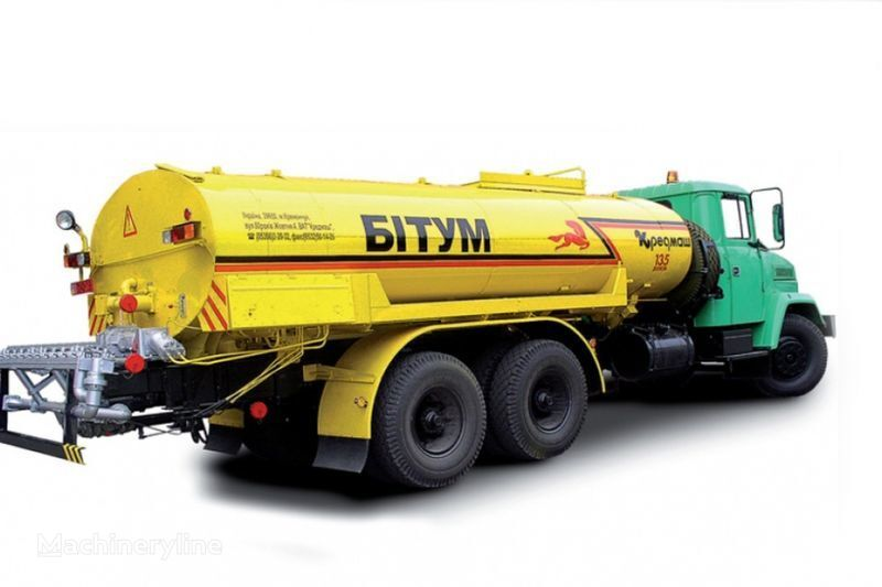 KRAZ 65053 KDM-333  pulverizator bitum