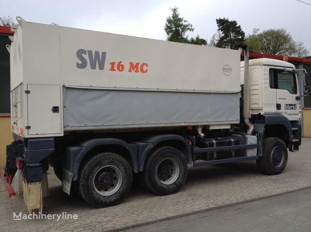 WIRTGEN Spreader Streumaster SW 16 MC reciclare asfalt