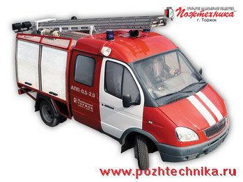 GAZ APP-0,5-2,0 Avtomobil pervoy pomoshchi     mașină de pompieri