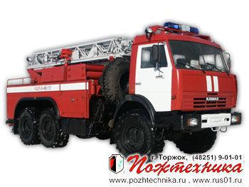 KAMAZ ACL-3-40/17    mașină de pompieri
