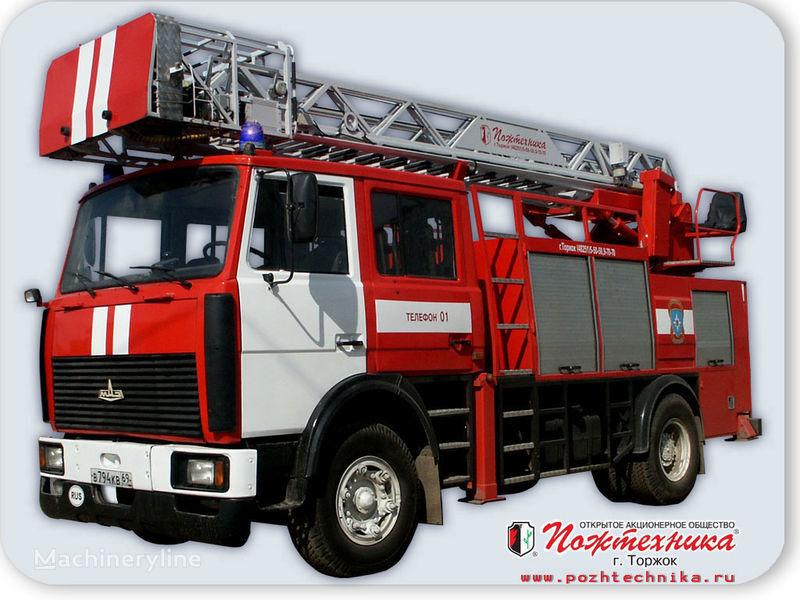 MAZ APS(L)-1,25-0,8 Avtomobil pozharno-spasatelnyy s lestnicey mașină de pompieri