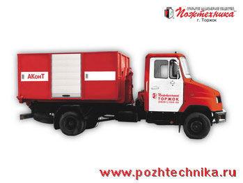 ZIL AKonT Avtomobil konteynernogo tipa    mașină de pompieri