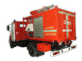 ZIL PSK Pozharno-spasatelnyy kompleks s konteynerami tyazhelogo tipa mașină de pompieri