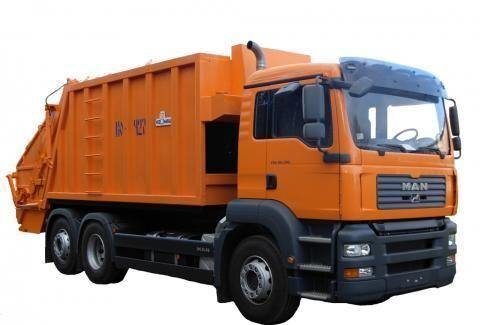 MAN KO-427-46  maşina de gunoi