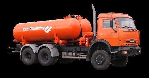 KAMAZ Vakuumnaya mashina KO-505A-1 maşină pentru vidanjări